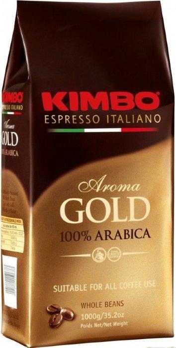 Кофе в зернах КИМБО АРОМА Голд KIMBO AROMA GOLD 500г