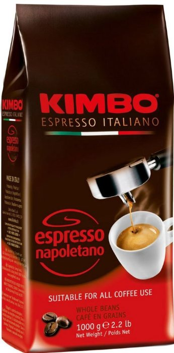 Кофе в зернах КИМБО KIMBO Espresso Napoletano 1кг