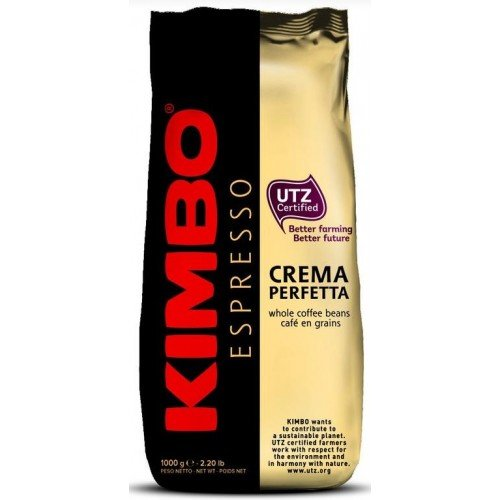 Кофе в зернах КИМБО KIMBO  CREMA PERFETTA 1кг